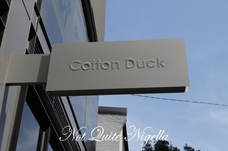 cotton duck, surry hills