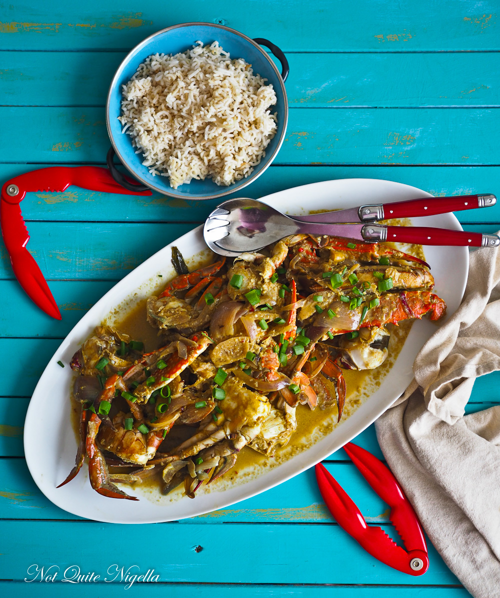 Crab Coconut Lime Curry