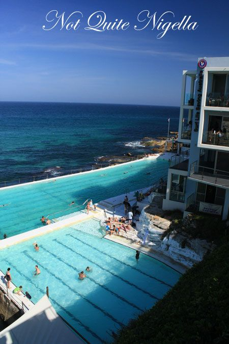 the crabbe hole bondi icebergs down view