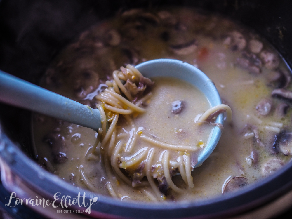 Cream Of Chicken Noodle Soup