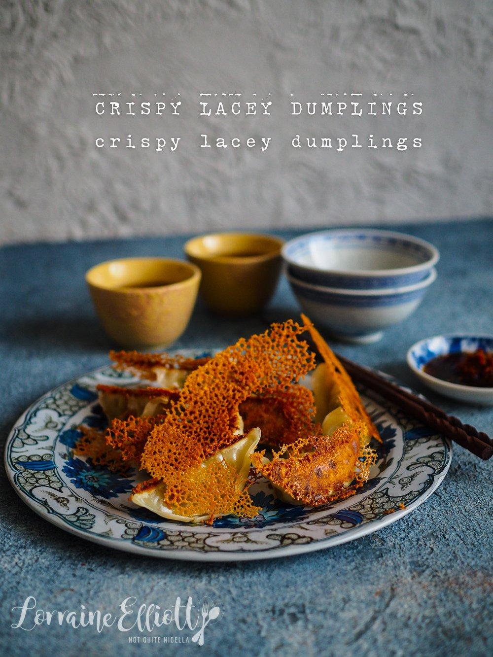 Crispy, Lacey Dumplings