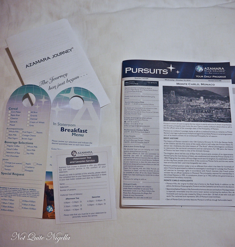 Azamara Cruise Review