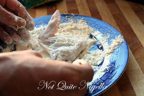 chicken flour