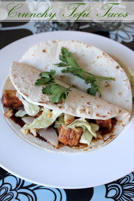 The Flying Pig Truck's Crunchy Tofu Tacos - For Even The Most Hardened Tofu Hater!