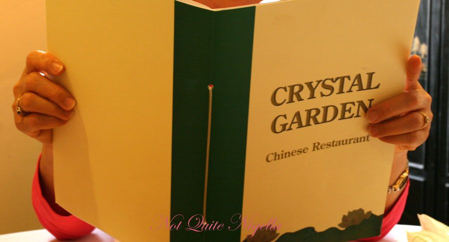 Crystal Garden at Malabar Menu