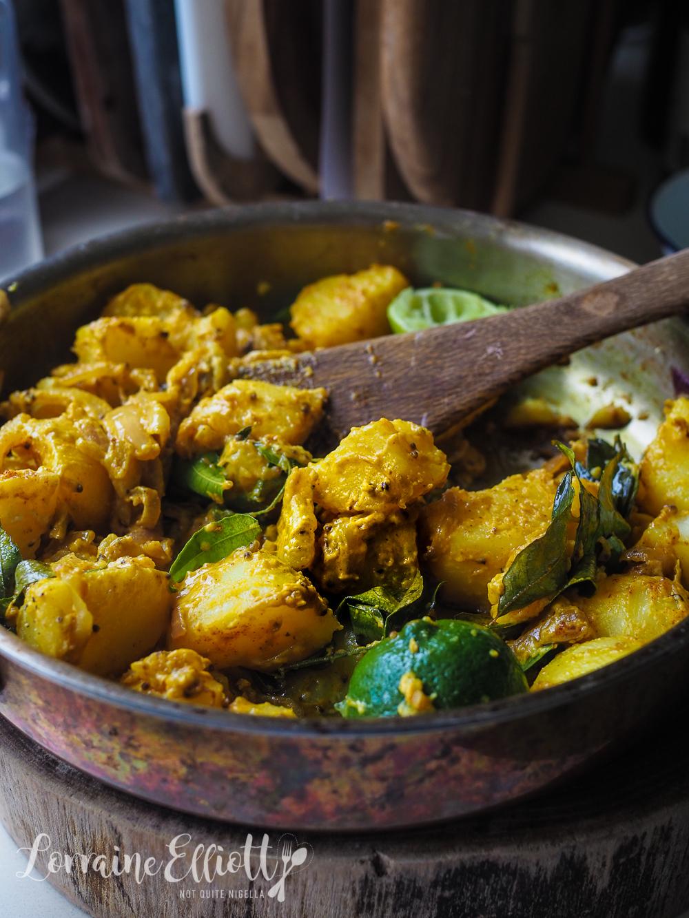 Sri Lankan Devilled Potatoes