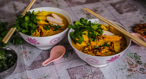 My Mother's Curry Laksa Recipe