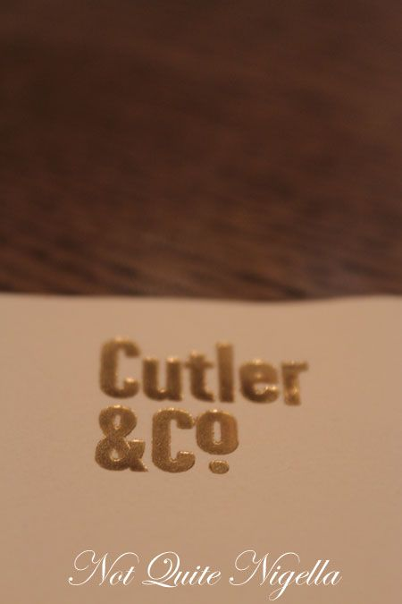 cutler and co, melbourne, review