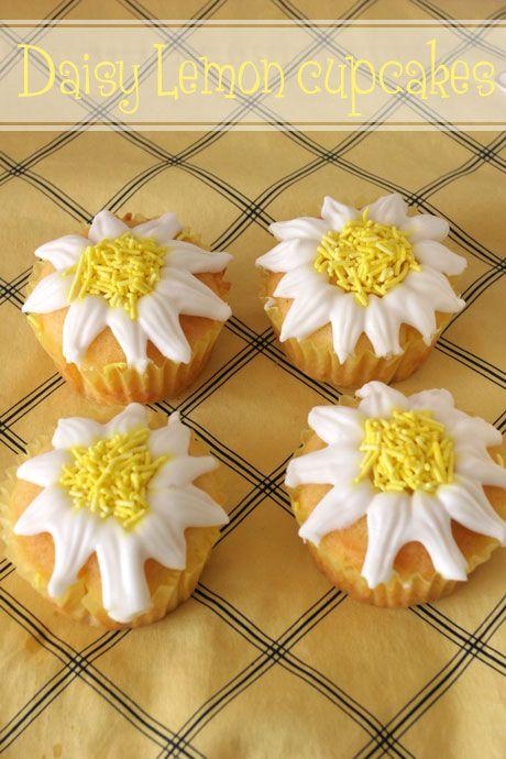 Daisy Lemon cupcakes
