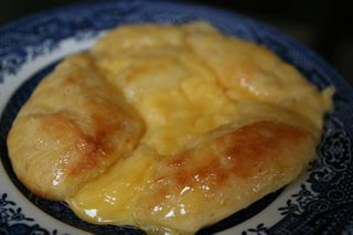Danish pastries filled with vanilla custard