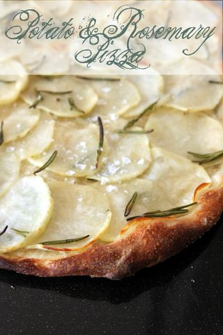 Daring Baker's Challenge: Potato & Rosemary Pizza