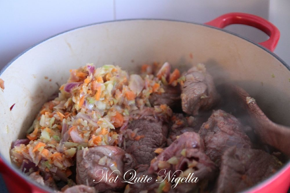 red wine chocolate beef stew