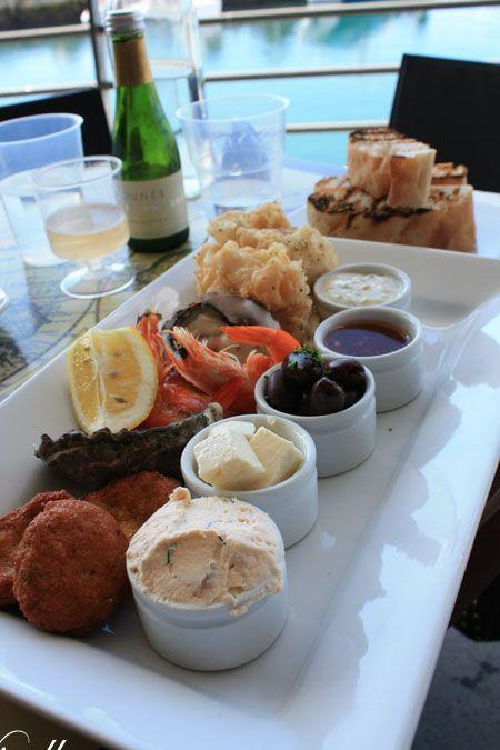 bombora seafood mezze