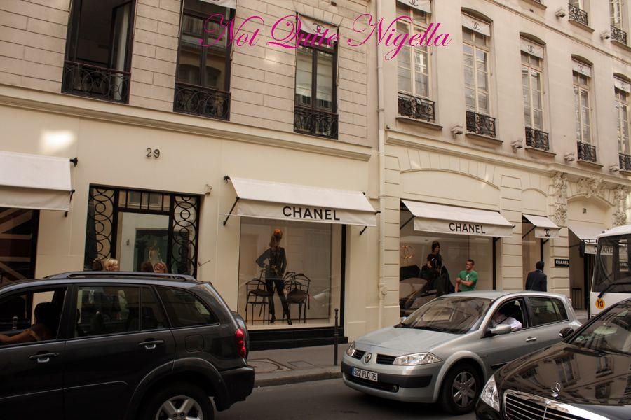 Chanel store Rue Cambon