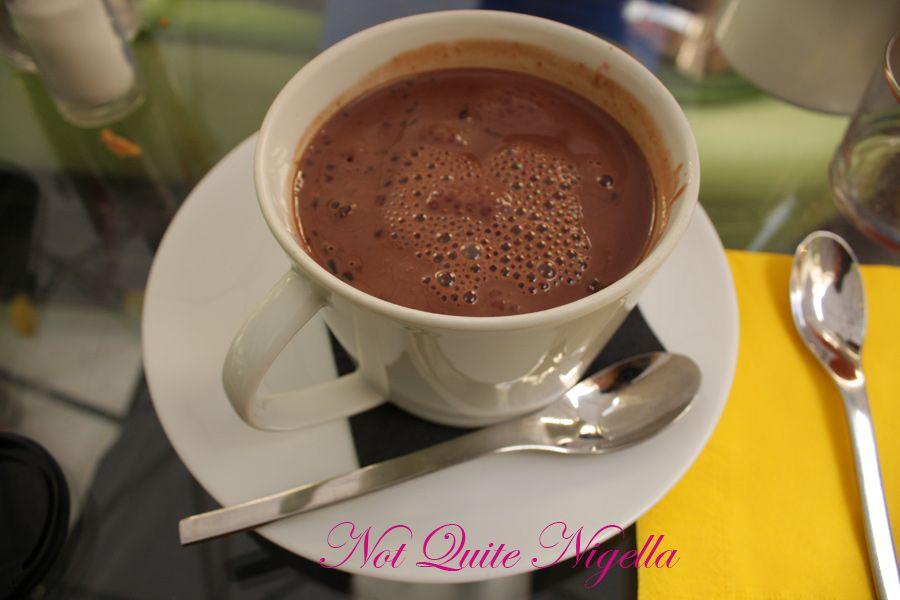 Delicabar Le Bon Marche chocolate soup