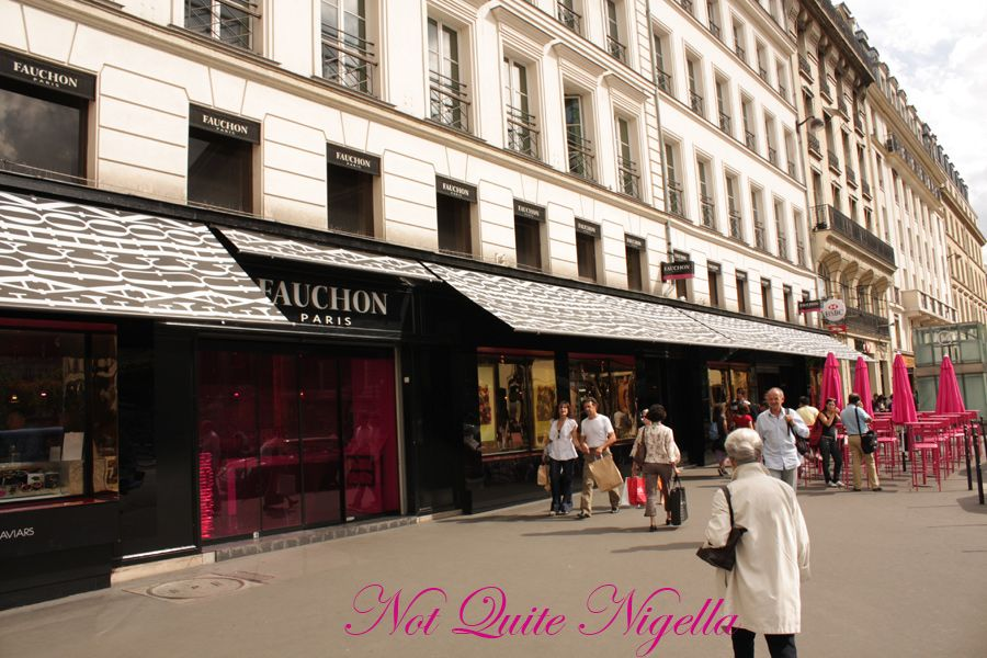 Fauchon Paris outside