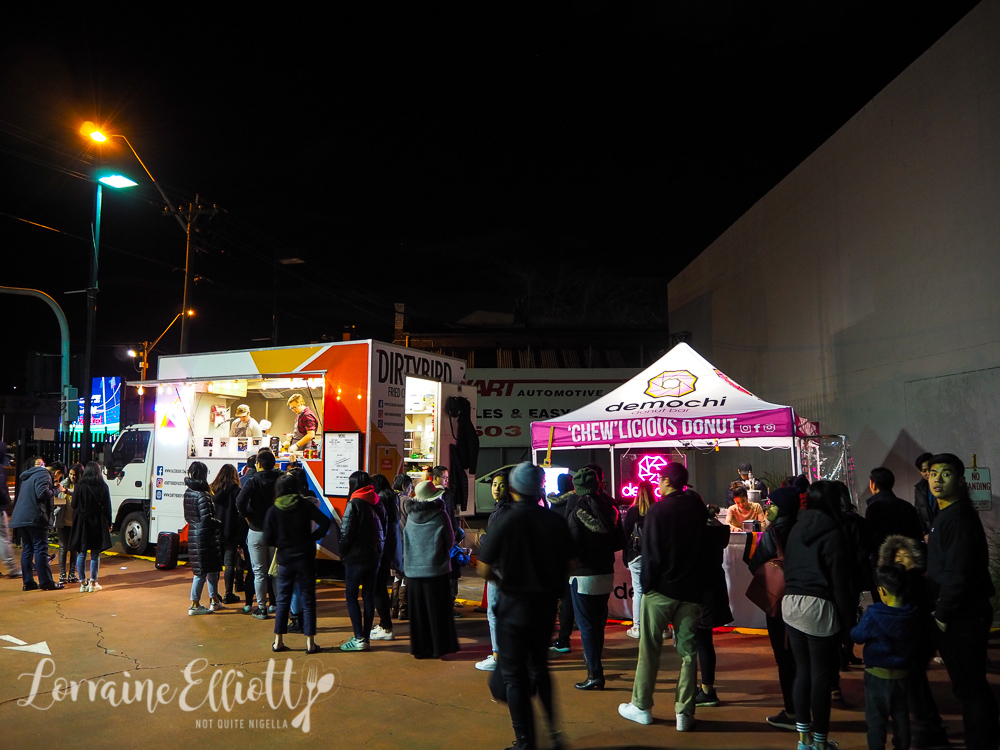 Demochi Donuts, Dirty Bird Food Truck Banksia