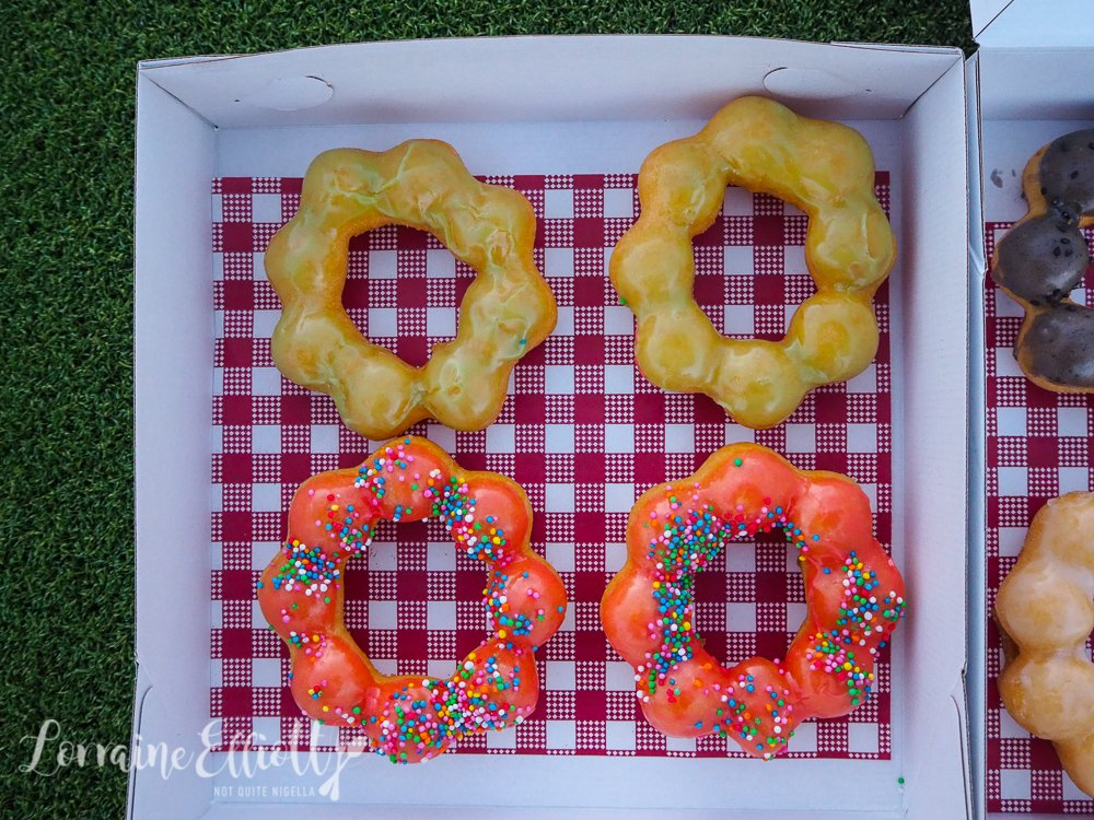 Demochi Donuts, Dirty Bird Food Truck Banksia @ Not Quite
