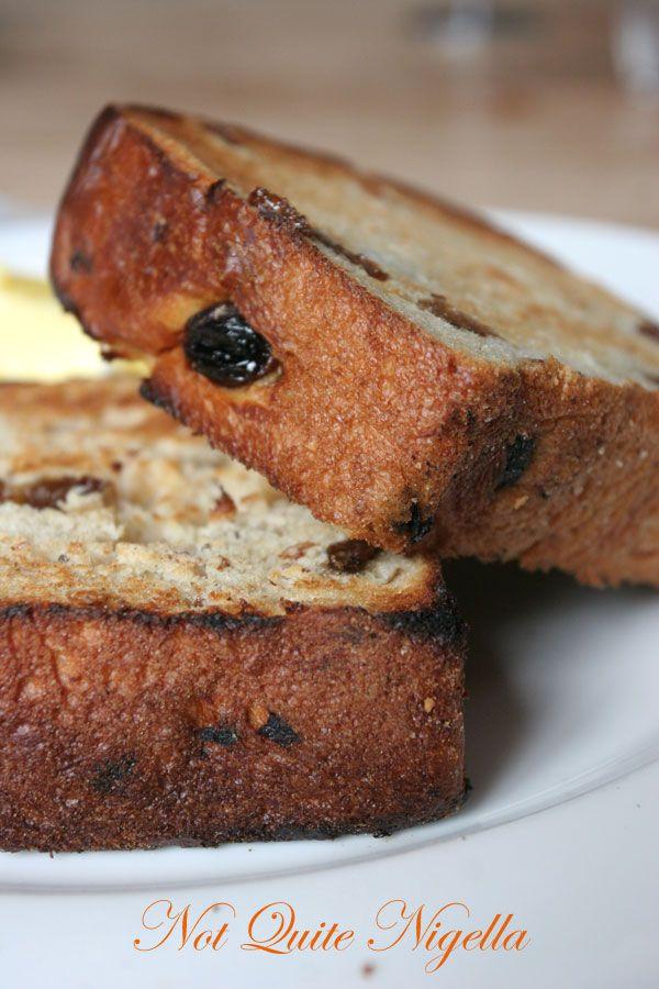 Deus cafe at Deusexmachina, Camperdown Fruit Bread