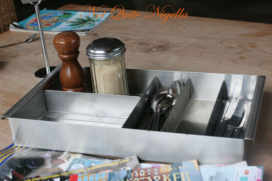 Deus cafe at Deusexmachina, Camperdown
