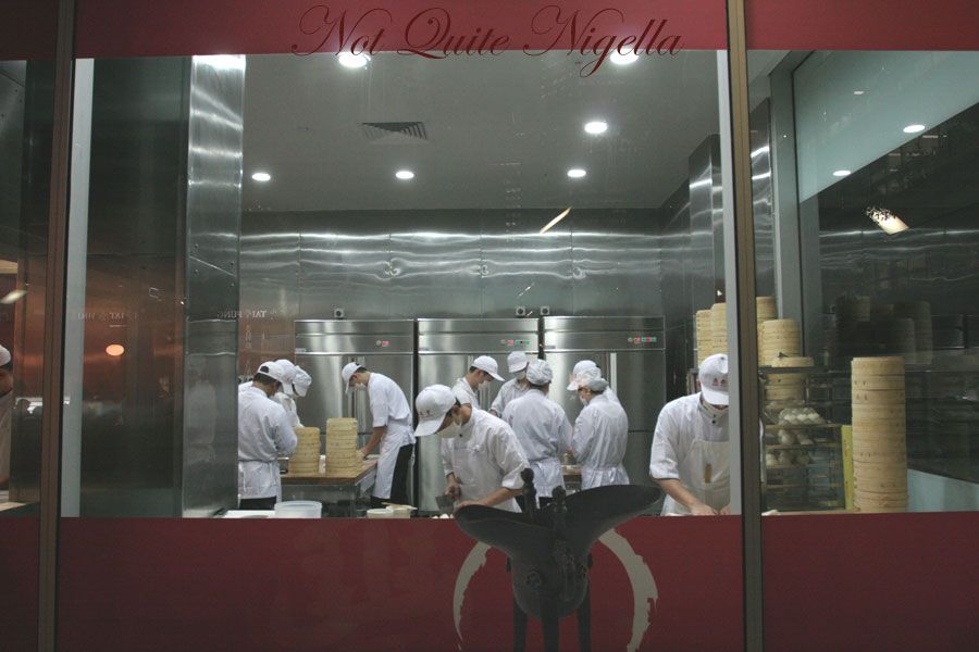 Din Tai Fung at World Square, Sydney Dumpling room