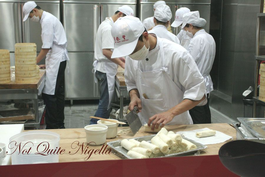 Din Tai Fung at World Square, Sydney Dumpling room