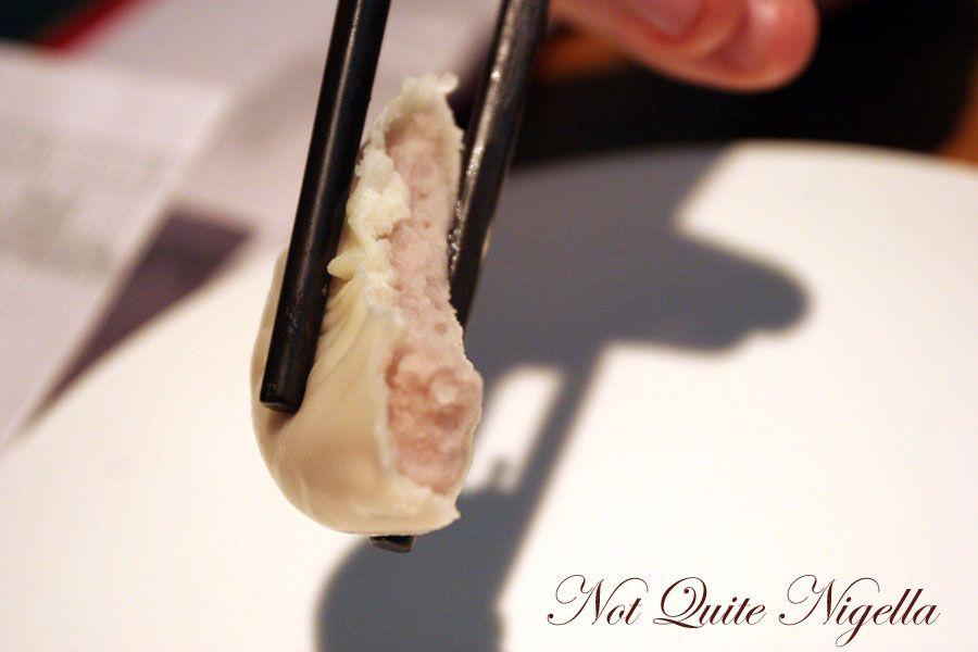 Din Tai Fung at World Square, Sydney Taro dumpling