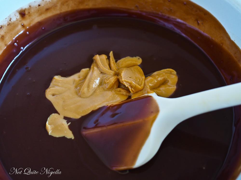 Peanut Butter & Chocolate Mud Dinosaur Cake