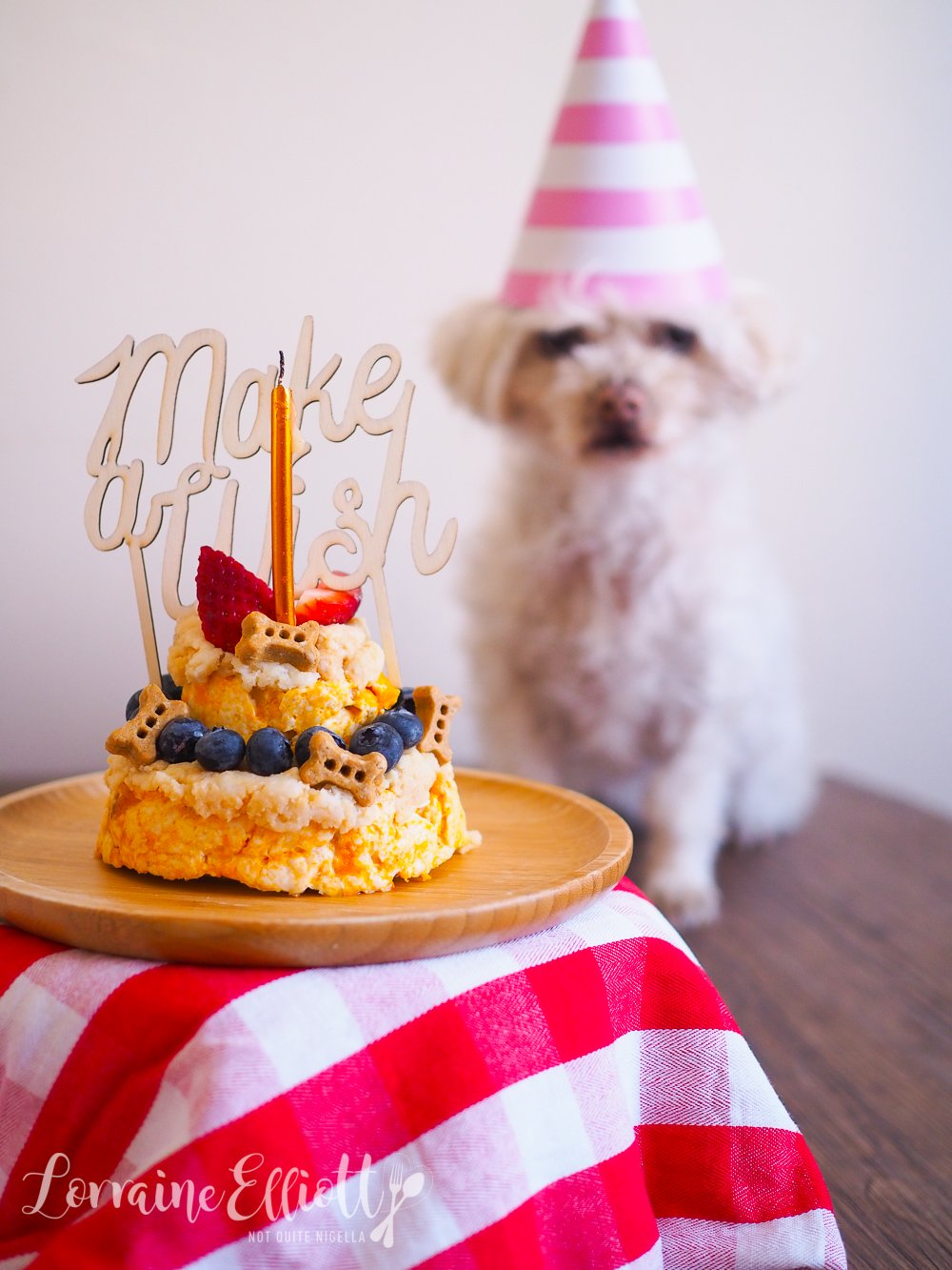 Sensational Easy Dog Birthday Cake Not Quite Nigella Funny Birthday Cards Online Elaedamsfinfo