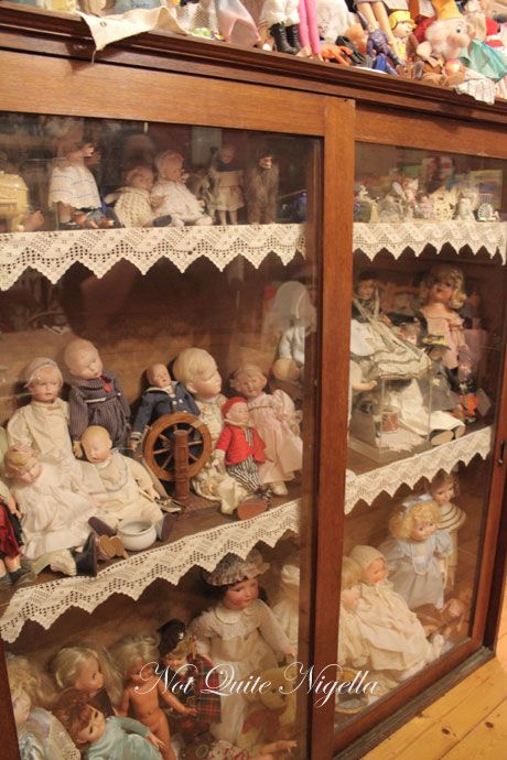 Dolls at the  mount, Heidelberg