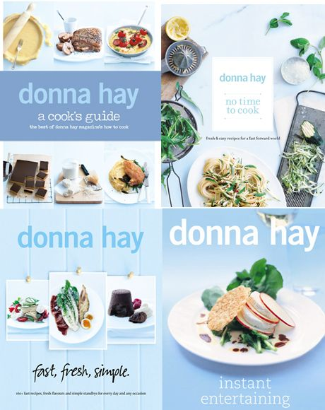 "Win A Donna Hay Cookbook Pack With A Signed Copy of ""A Cook's Guide""!"