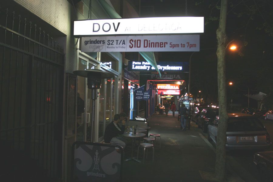 Dov at Delectica at Potts Point