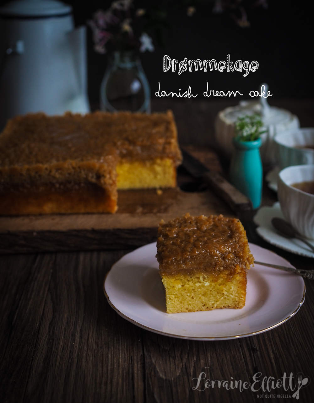 Drømmekage Danish Dream Cake
