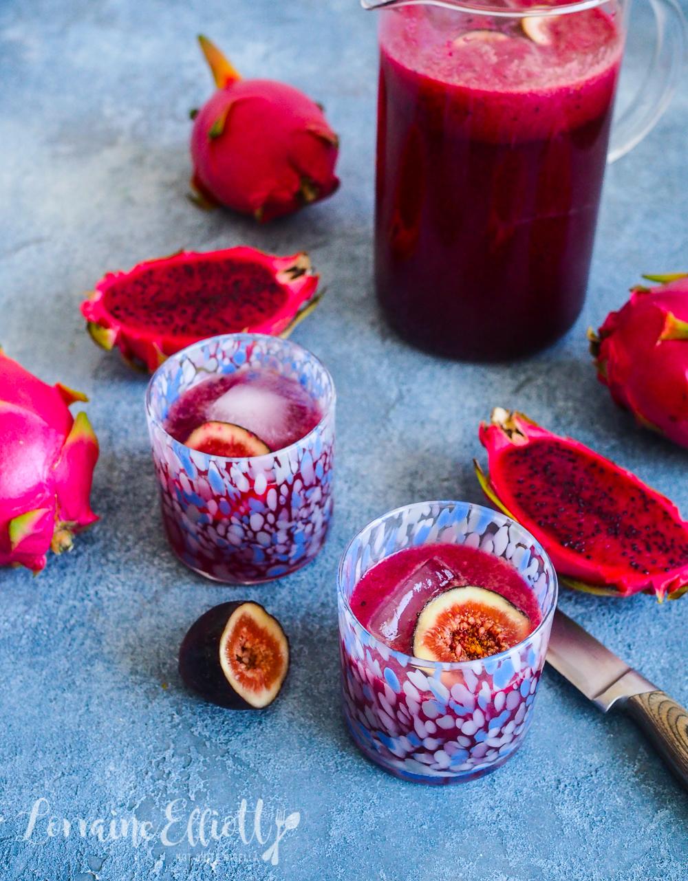 Dragonfruit pitaya drink