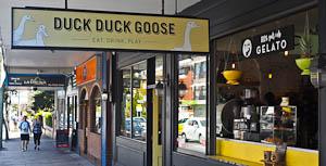 Playing Duck Duck Goose, Randwick