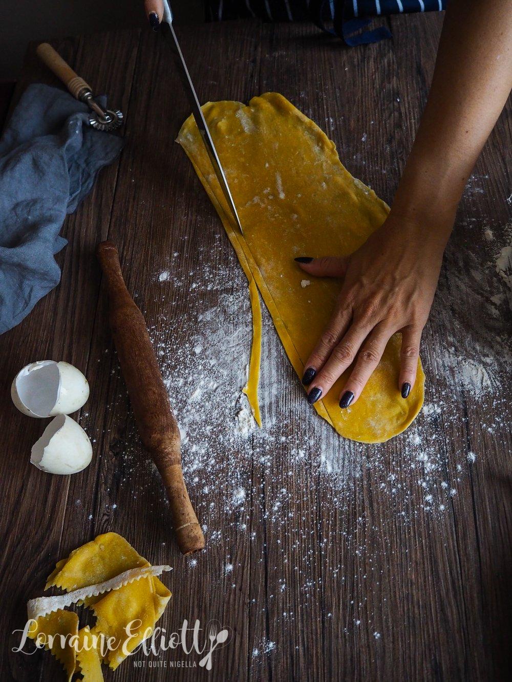 Duck Egg Pasta By Hand No Machine