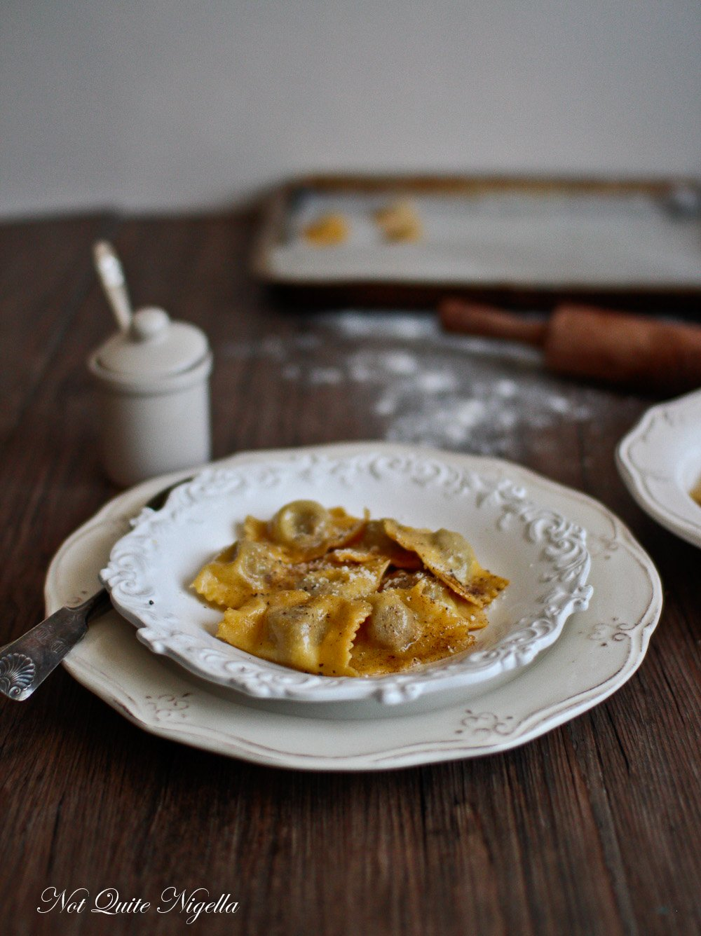Duck Ravioli From Scratch