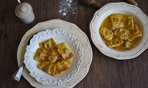 Duck & Porcini Ravioli {What To Do With Your Christmas Leftovers!}