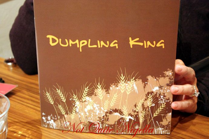 dumpling king newtown menu