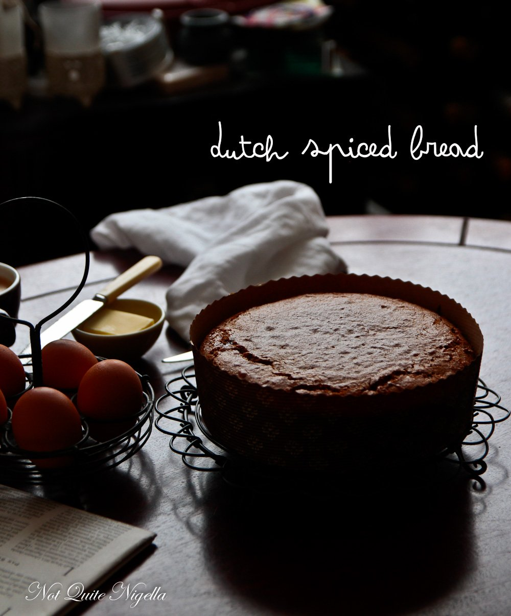 Dutch Spiced Cake Recipe Ontbijtkoek