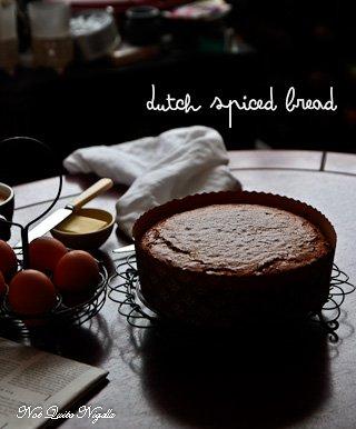 ... spice cake dutch spice cake on a rope ontbijtkoek global table