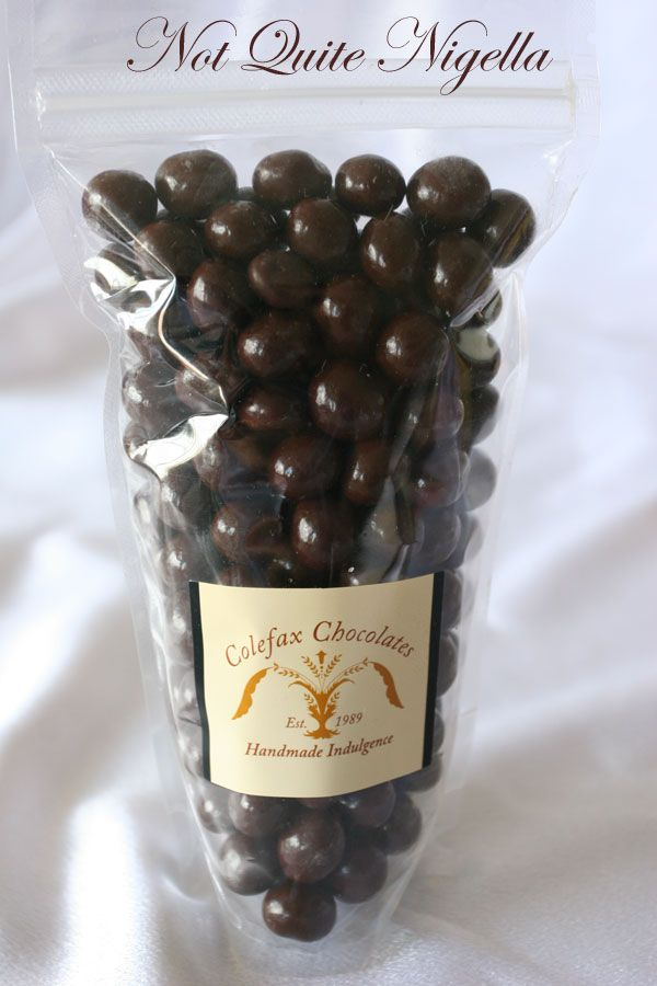 Colefax chocolates Coffee beans