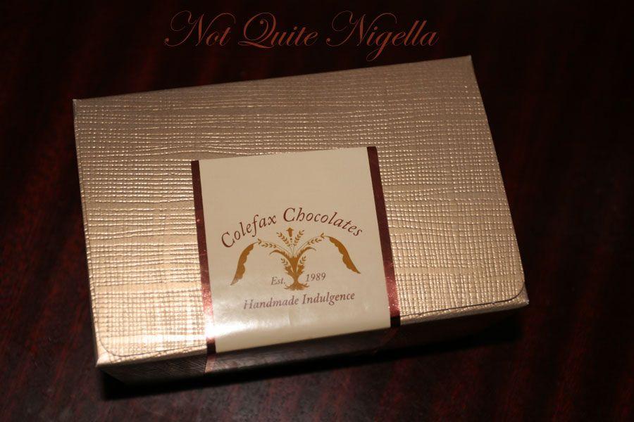 Colefax chocolates truffles