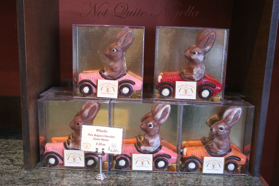 Colefax chocolates Bunny cars