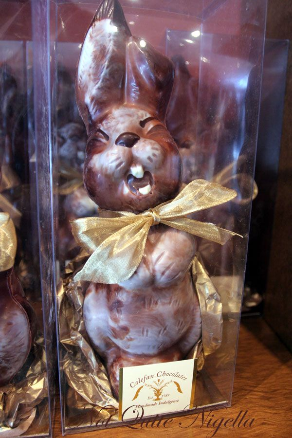 Colefax chocolates Bunny