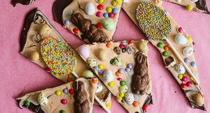 Hoppy Easter Chocolate Bark!
