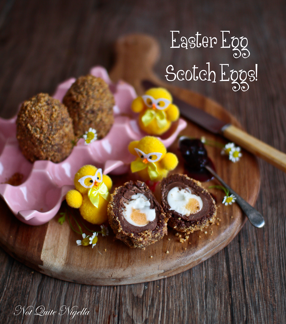 Easter Egg Scotch Eggs