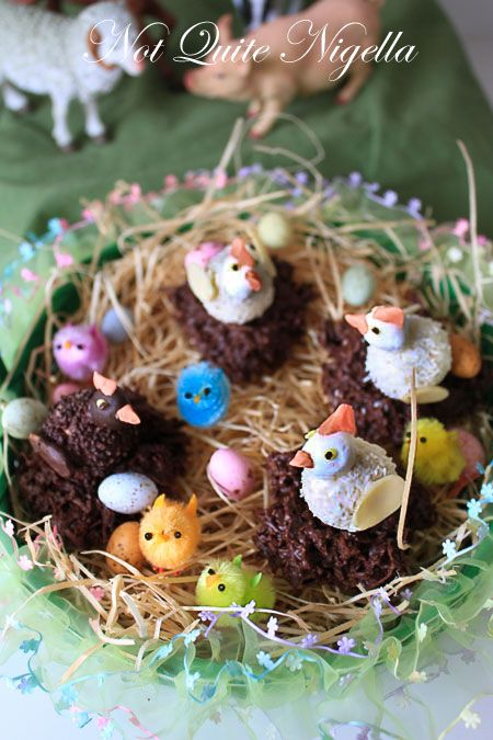 Easter Hen and Chick Nests!