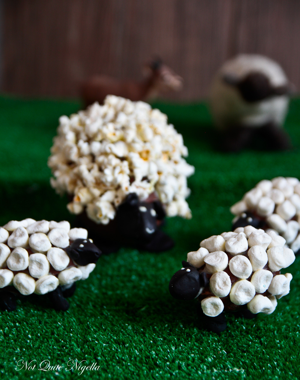 Chocolate Easter Lambs