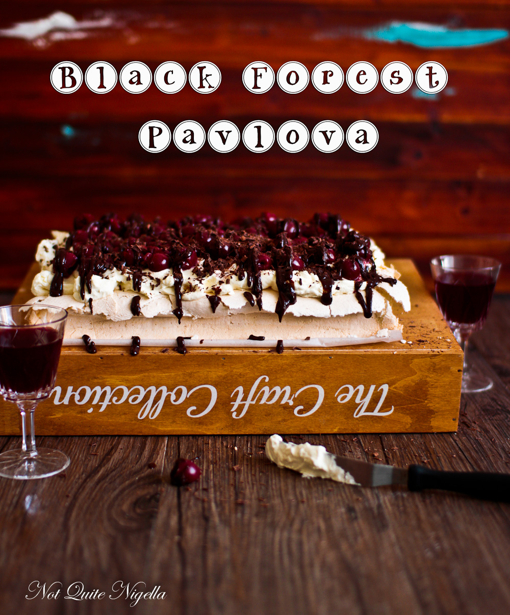 Quick Pavlova Recipe Black Forest